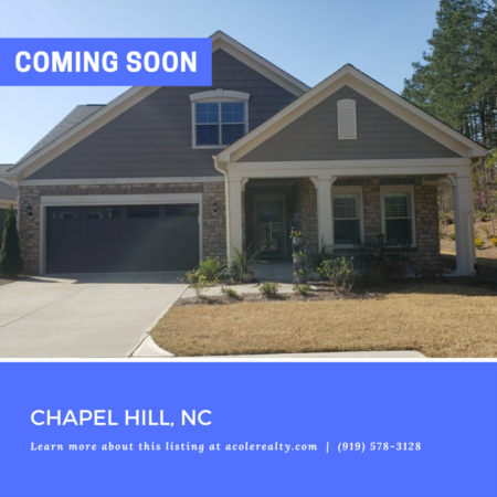 *COMING SOON* Charming 3 yr old home in the highly sought-after Epcon Community of Villas of Culp Arbor.