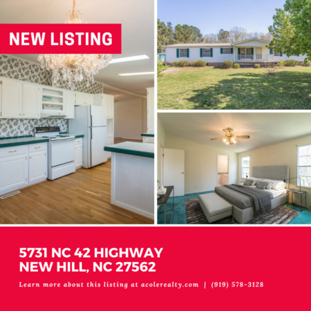 *NEW LISTING* A fabulous opportunity awaits! This peaceful and serene home sits on 2.8 acres with plenty of space to enjoy the outdoors.
