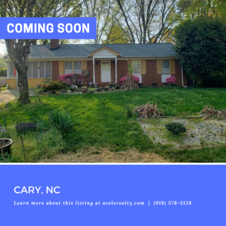 *COMING SOON* Investor's Dream! Highly sought-after brick ranch floor plan in Ivy Meadows.