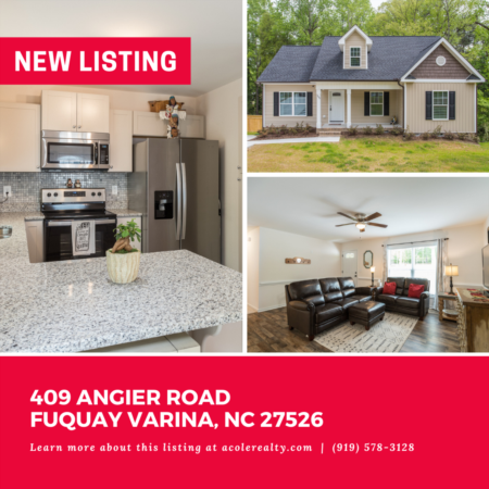 *NEW LISTING* Charming 'like new' open ranch floor plan with 800+ square feet of unfinished attic space for future expansion!