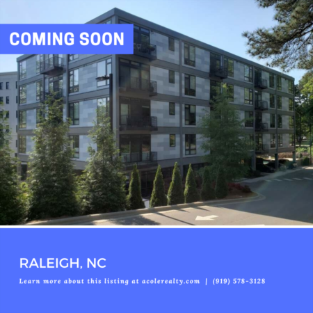 *COMING SOON* Ultra modern and sleek 4th floor condo in the highly sought-after after area of Wade Avenue.