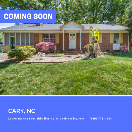 *COMING SOON* Highly sought-after brick ranch floor plan in Ivy Meadows.