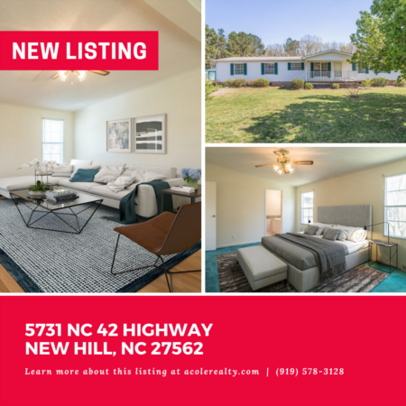 *NEW LISTING* This peaceful and serene home sits on 2.8 acres with plenty of space to enjoy the outdoors.