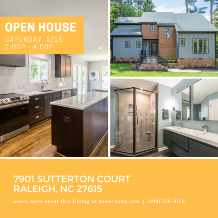 Open House: Saturday, May 15, 2021 from 2:00 PM - 4:00 PM