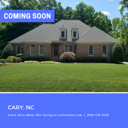 *COMING SOON* Stunning all brick home with tons of expansion space.