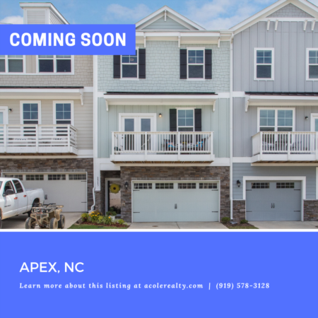 *COMING SOON* Upgrades Galore! This spectacular townhome is in a fabulous Apex location just minutes from Beaver Creek shops and restaurants.
