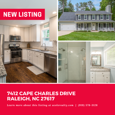 *NEW LISTING* *NEW LISTING* Prime Raleigh location with easy access to highways, highly sought-after schools, restaurants, and lots of shopping.