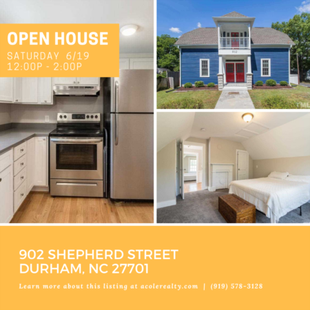 Open House: Saturday, June 19, 2021 from 12:00 PM - 2:00 PM