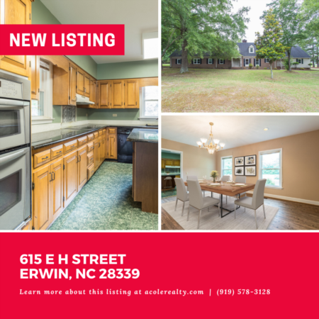 *NEW LISTING* Don't miss out on this amazing opportunity in the quaint town of Erwin.