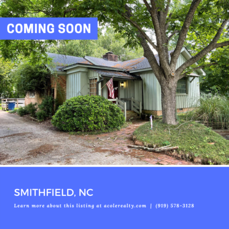 *COMING SOON* Highly sought-after partial brick Ranch floor plan in a convenient Smithfield location!