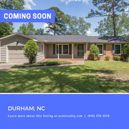*COMING SOON* Amazing Lake Front Property in Durham!