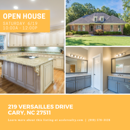 Open House: Saturday, June 19, 2021 from 10:00 AM - 12:00 PM