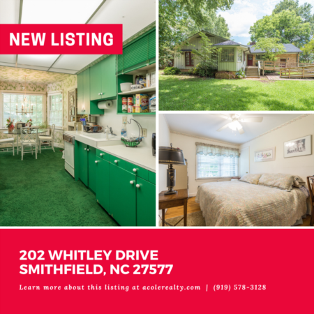 *NEW LISTING* Don't miss out on this amazing opportunity! Highly sought-after partial brick Ranch floor plan in a convenient Smithfield location.