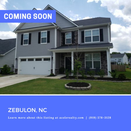 *COMING SOON* Beautiful 'like new' home in the master planned community of Weavers Pond.