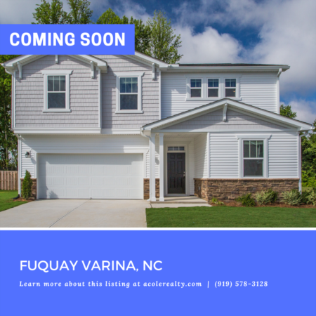 *COMING SOON* New Construction opportunity in Partin Place!