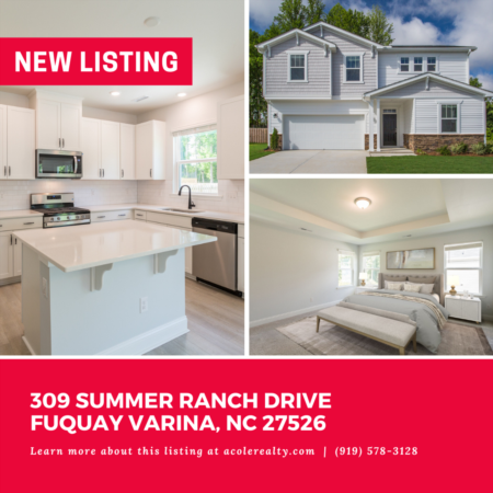 *NEW LISTING* New Construction opportunity in Partin Place!