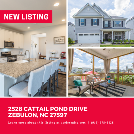 *NEW LISTING* Beautiful 'like new' home in the master planned community of Weavers Pond.