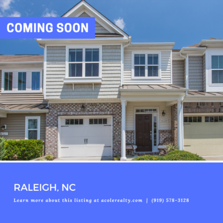 *COMING SOON* Immaculate Townhome with 1 car garage in the desirable Highland Creek community.