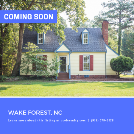 *COMING SOON* Don't miss out on this newly renovated home on 1.17 acres in a convenient Wake Forest location.
