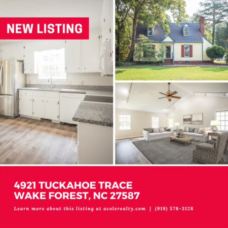 *NEW LISTING* Don't miss out on this newly renovated home on 1.17 acres in a convenient Wake Forest
