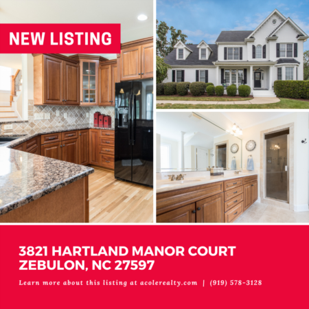 *NEW LISTING* Amazing cul-de-sac opportunity on 1.12 acres in a convenient Zebulon location.