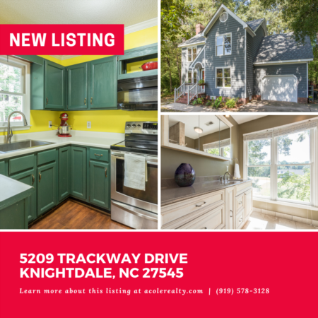 *NEW LISTING* Amazing opportunity in a spectacular Knightdale location.
