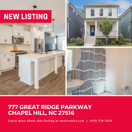 *NEW LISTING* Beautiful 'like new' home in the highly sought-after community of Brier Chapel