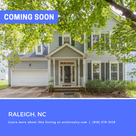 *COMING SOON* Prime North Raleigh location minutes away from 540, Brier Creek, and highly sought-after schools!
