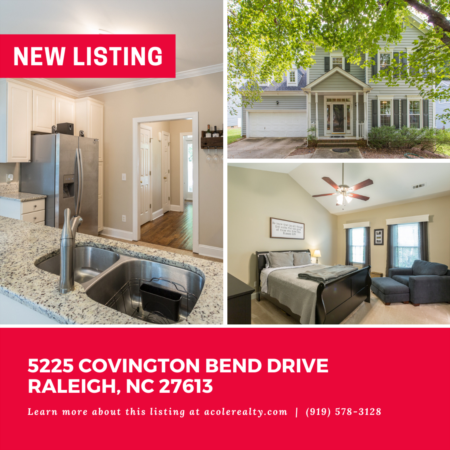 *NEW LISTING* Prime North Raleigh location minutes away from 540, Brier Creek, and highly sought-after schools!