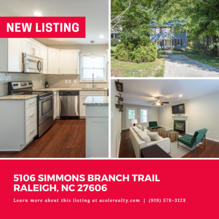 *NEW LISTING* Prime Location! This charming three bedroom home is in the heart of Raleigh with easy access to 440, 40, NCSU, downtown Raleigh, Lake Johnson, and Crossroads.
