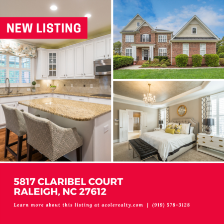 *NEW LISTING* This spectacular home features a whole house generator, plantation shutters throughout, and is in a prime location close to I-40, 440, 540, tons of shopping, and restaurants.