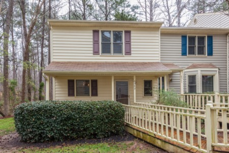 New Listing/Open House in Raleigh this Saturday from 12:00 to 2:00 pm!