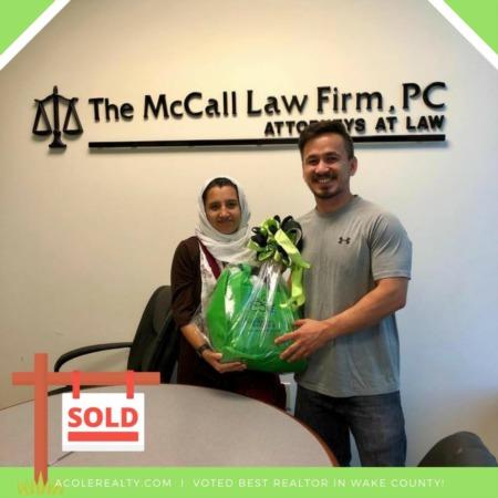Congratulations to Habibullah and Sitara!