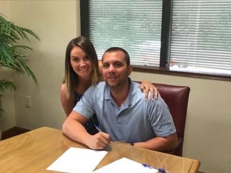 Congratulations, Caitlin and Jason!