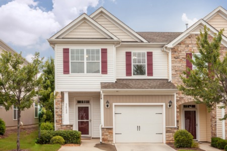 New Listing!  End Unit Townhome in Raleigh!