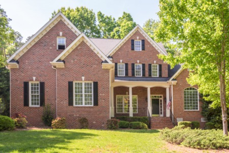 4 Bedroom/4.5 Bath Custom Built Brick Home in Mount Vernon Crossing of Raleigh!