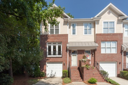 New Listing on 4 Bedroom/3.5 Bath End Unit Townhome in Raleigh!