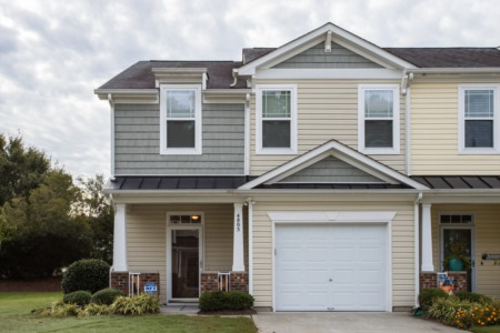 New Listing in Raleigh!  End Unit Townhome!