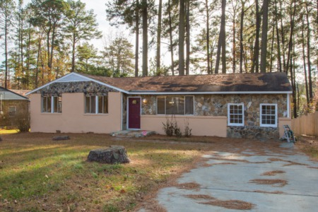 New Listing!  Completely Remodeled Ranch Home in Raleigh!