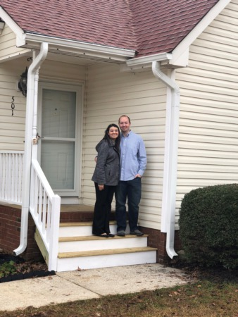 Congratulations, Chris Waight and Cheyenne Merrigan on your new home!