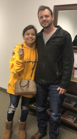 Congratulations, Nick Zaleski (and his daughter Angie) on your new home!