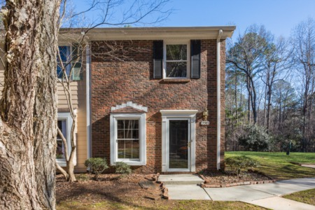New Listing!  2 Bedroom/2.5 Bath End Unit Townhome in Cary!