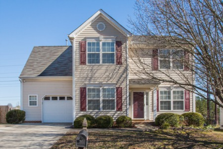 New Listing!  4 Bedroom/2.5 Bath Home in Raleigh!