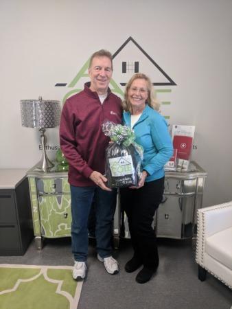 Congratulations, Rick & Ann Schappell!