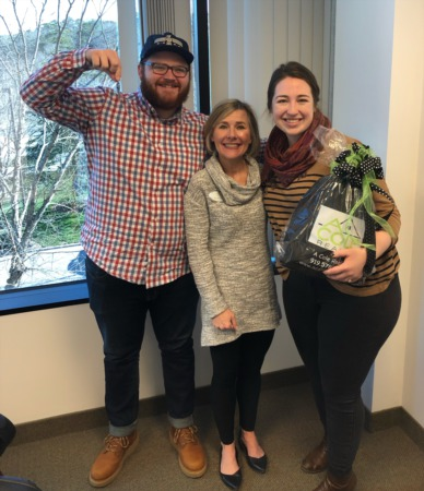 Nathan and Mary Kate Kornegay closed on their first home!