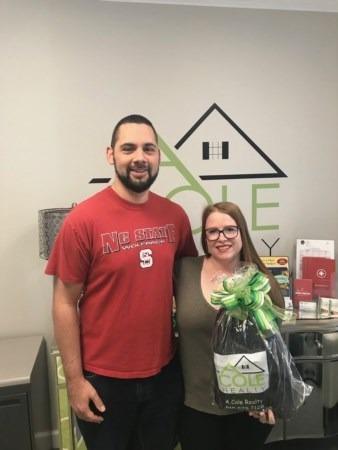 Congratulations, Shaune and Jamie Reynolds!