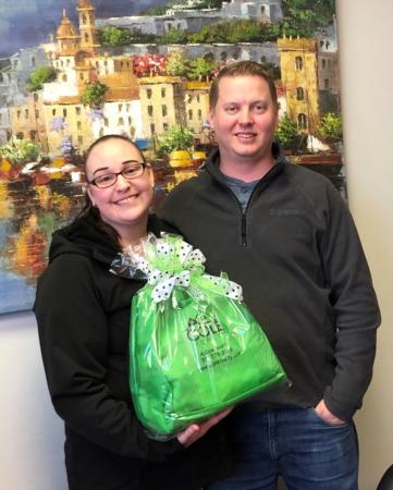 Congratulations, Ryan and Kristin!