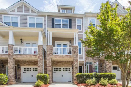 New Listing and Open House in Townes of Umstead Park!