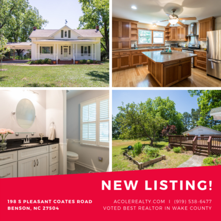 *NEW LISTING* in Benson, NC