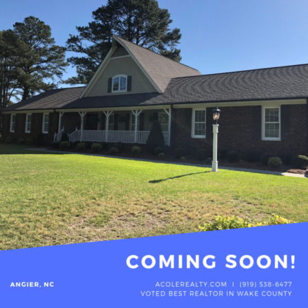 COMING SOON in Angier, NC!!